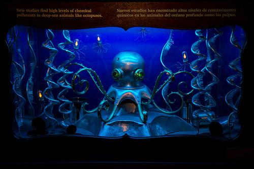 モントレーベイ水族館 メカのタコの画像
