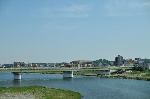 多摩川の画像