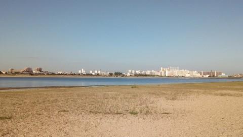シーバスの釣り場 神戸 甲子園浜 サーファーエリア1