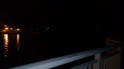 暗い釣り場