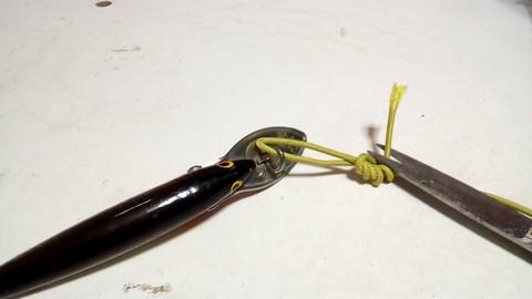 釣り糸や針の結び方 ループノット (6)