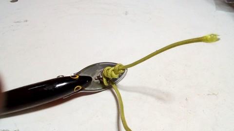 釣り糸や針の結び方 完全結び(漁師結び) (6)