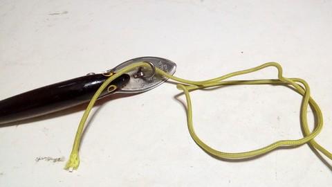 釣り糸や針の結び方 ループノット (2)