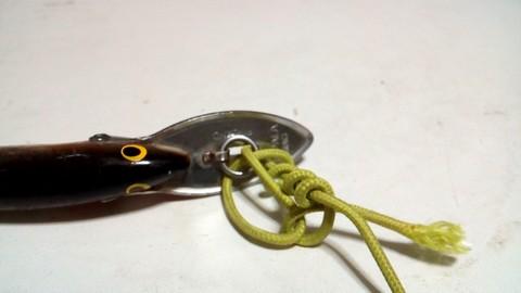 釣り糸や針の結び方 クリンチノット (6)