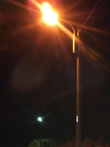 夜釣り 常夜灯