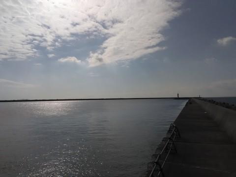 和歌山の太刀魚ポイント 青岸 湾内灯台