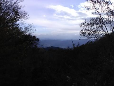 葛城山 山頂から和歌山側
