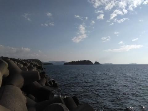 和歌山の太刀魚ポイント 水軒 沖