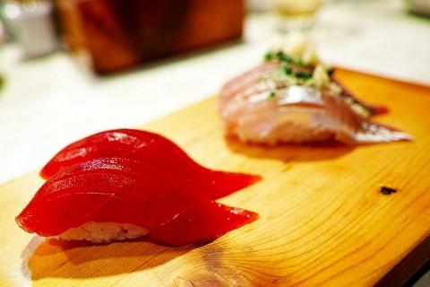 赤身の寿司