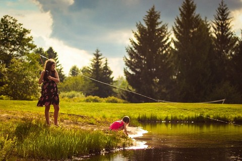 釣り 子供の服装