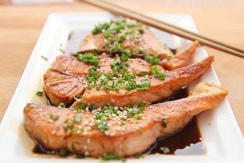 鮭の料理1
