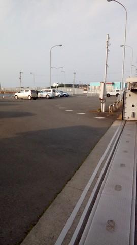 深日漁港 駐車場1