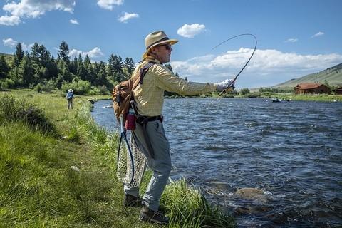 川釣り 服装