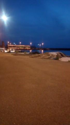 アジング・メバリング ポイント 淡輪漁港 全景