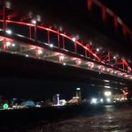 シーバスの釣り場 神戸 北公園 夜 大橋